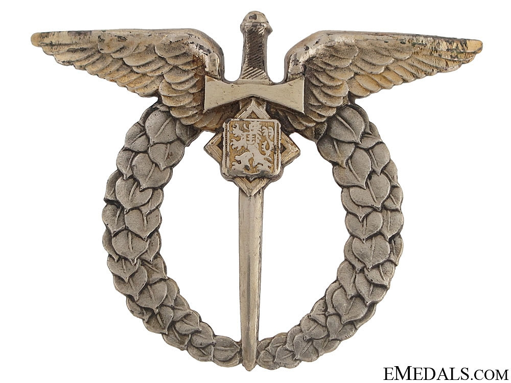 eMedals-WWII Pilot Badge - Numbered