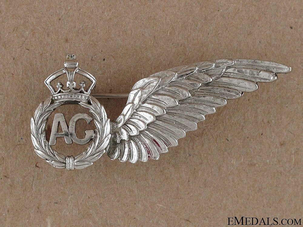 eMedals-WWII RCAF Air Gunners Wing