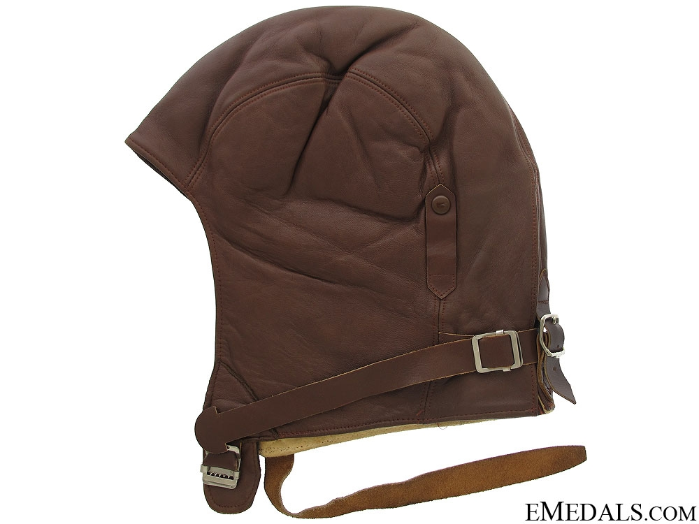 eMedals-WWII RCAF Leather Training Helmet