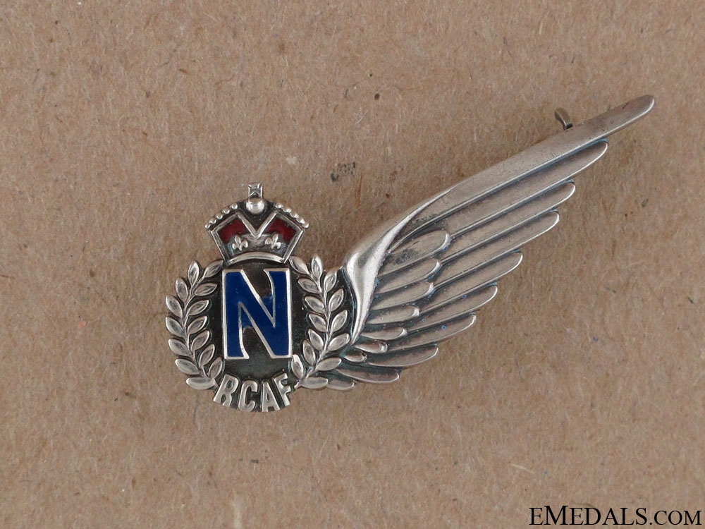 eMedals-WWII RCAF Navigator Wing by Birks