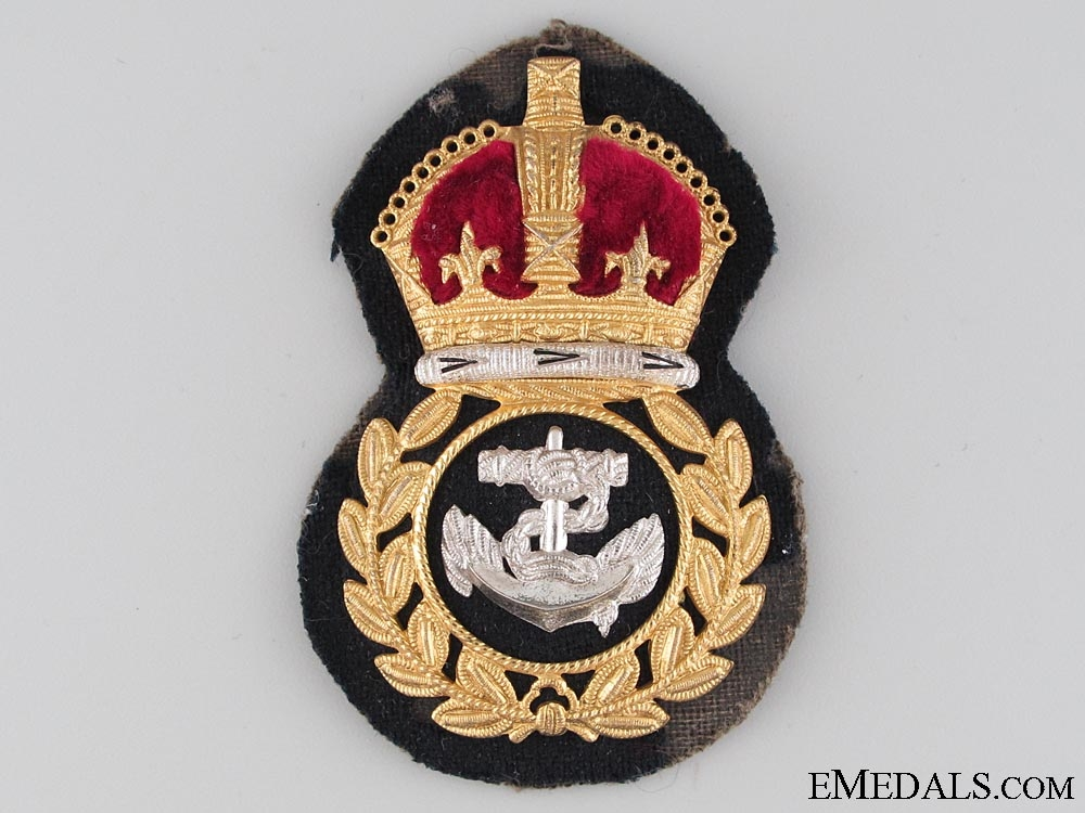 eMedals-WWII RCN Chief Petty Officer's Cap Badge