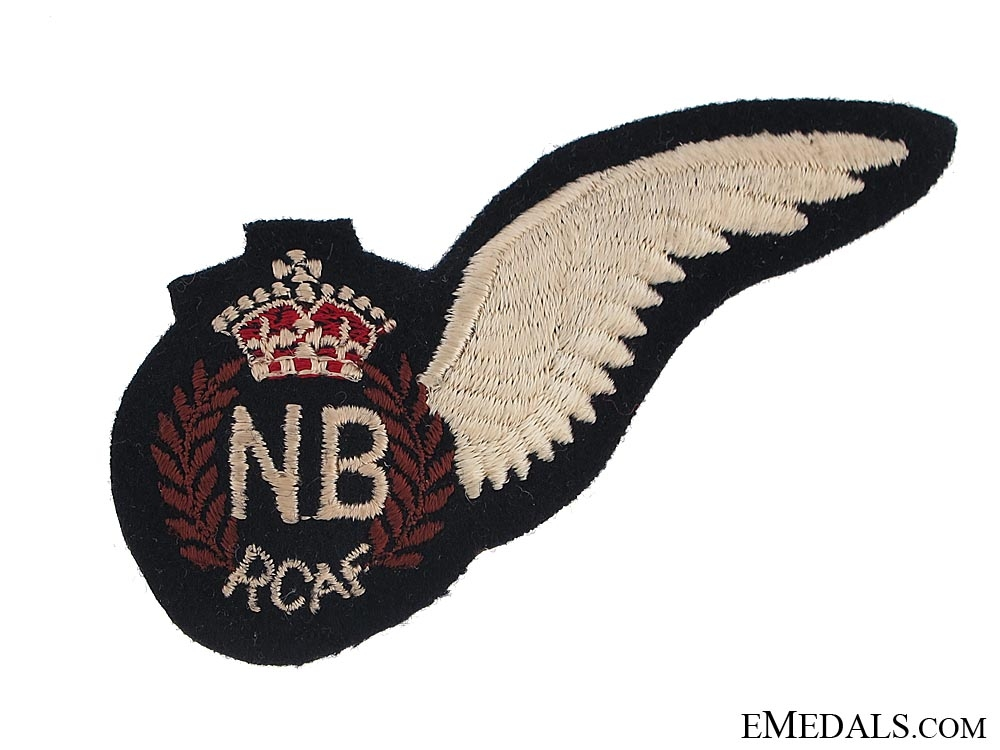 eMedals-WWII Royal Canadian Air Force (RCAF) Navigator/Bombadier's (NB) Wing