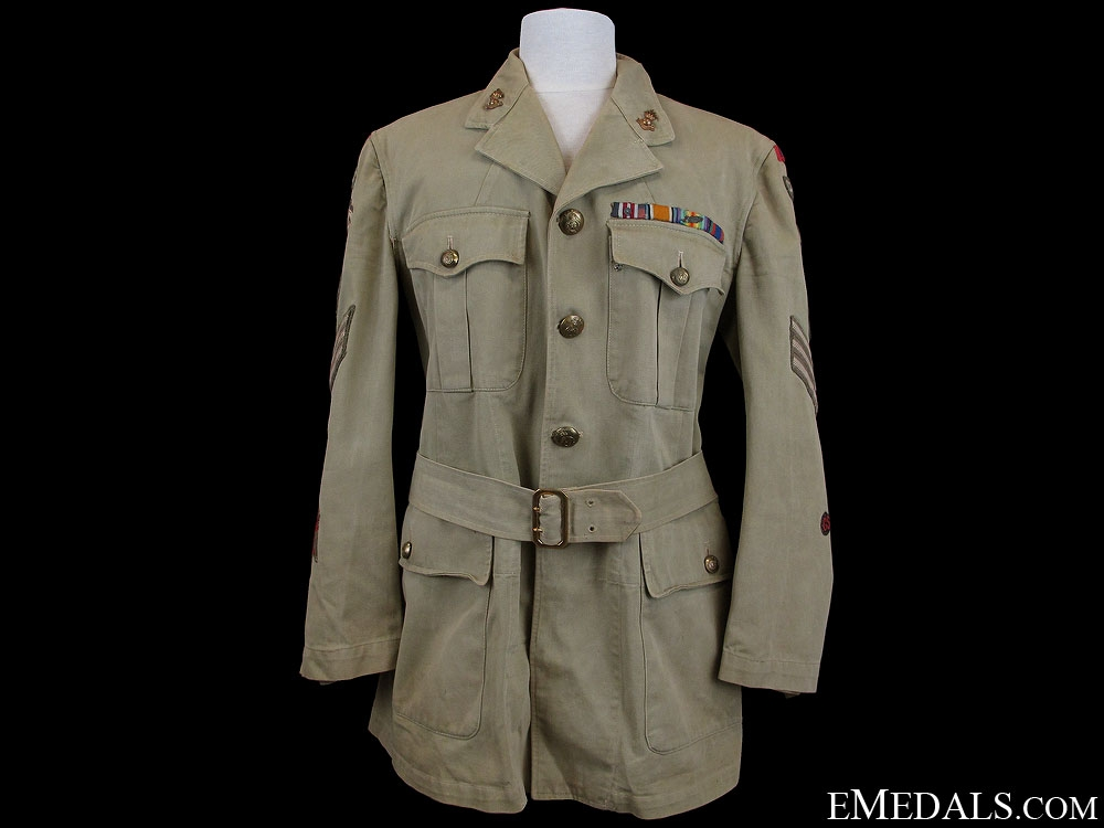eMedals-WWII Royal Canadian Engineers Tunic