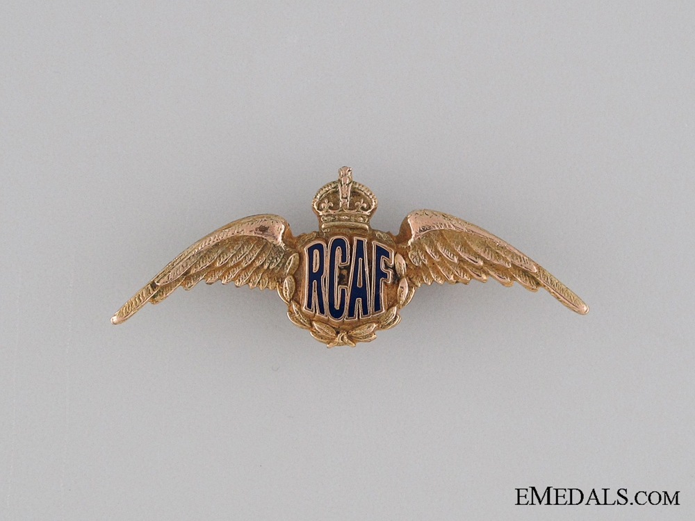 eMedals-WWII Royal Canadian Air Force Sweetheart Wings