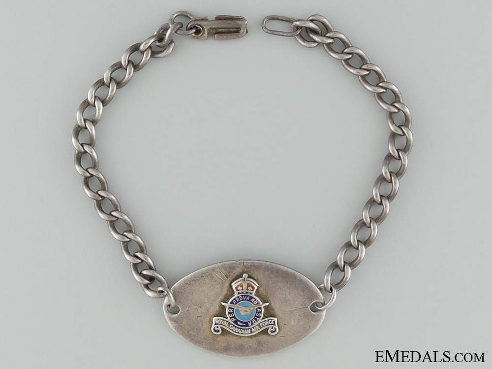 eMedals-WWII Royal Canadian Air Force (RCAF) ID Tag