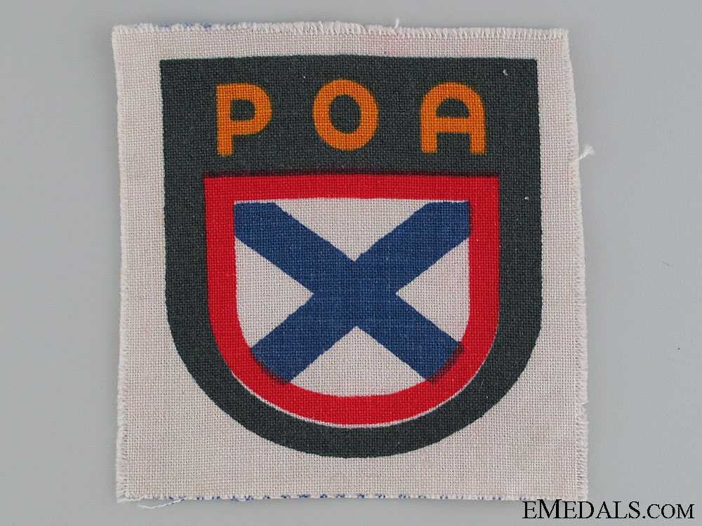 eMedals-WWII Russian SS Volunteer Army POA