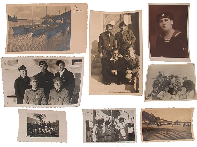 eMedals-Eight Armed Forces Photographs/Postcard