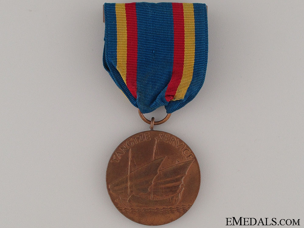 eMedals-Yangtze Service Medal - Numbered