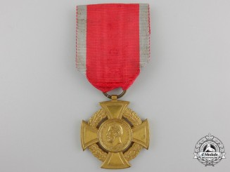 A Romanian Medal of Military Virtue; War-Time Issue