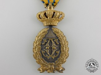 A Romanian Officer's Badge of Honour for Twenty-Five Years' Military Service