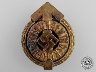 A Recovered HJ Achievement Badge by Gustav Brehmer