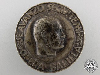 A Second War Italian Fascist Badge