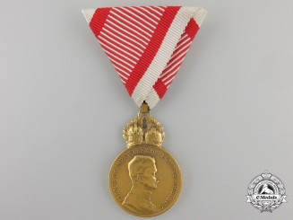 An Austrian Military Merit Medal, Karl I (1917-1918)