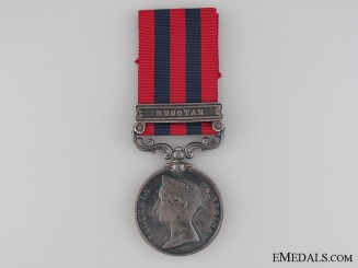 1849-95 India General Service Medal to the 55th Regiment