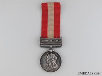 A Canada General Service Medal to the Brantford Rifle Company