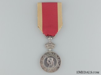 1867-1868 Abyssinian War Medal to Royal Marines on HMS Daphine