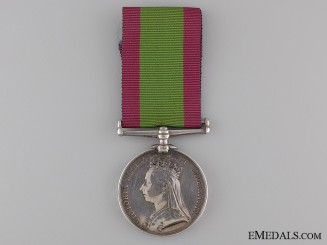1881 Afghanistan Medal to the 5th Regiment of Foot
