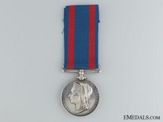 1885 North West Canada Medal to the Montreal Garrison Artillery