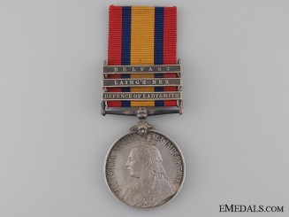 A Queen's South Africa Medal to the Liverpool Regiment