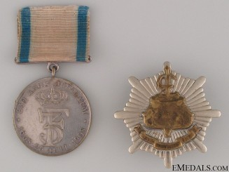 1908 Jubilee Medal of The Royal Life Guard