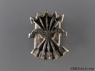 1930's Spanish Fascist Member's Badge