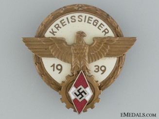 1938 Victors Badge in the National Trade Competition