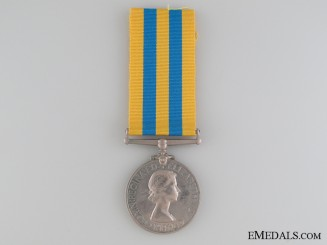 1951 Korea Medal to the Army Catering Corps