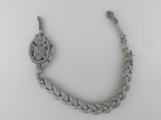 An Third Reich Army Shooting   Lanyard