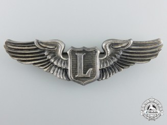 A Second War United States Liaison Pilot Badge by N.S. Meyer