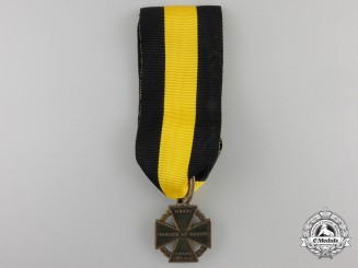 An 1813-14 Austrian Army Cross (Kanonenkreuz)