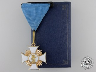 A Wurttemberg Order of Friedrich in Gold; Knight First Class
