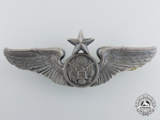 A Second War United States Army Aircrew Badge; Senior