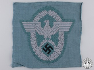 A German Police Officers Sleeve Eagle