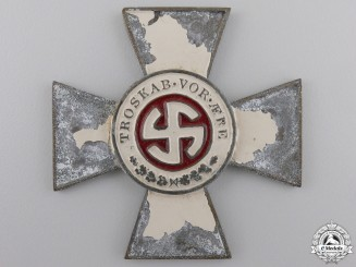 A Rare & Recovered Schalburg Cross