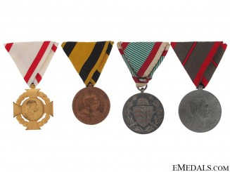 Lot of Four Medals