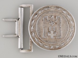 Red Cross Officer's Buckle