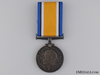 WWI British War Medal to the Western Ontario Regiment