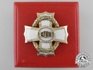 An Austrian War Cross for Civil Merit; 2nd Class with Case