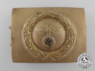 An Early Canal and Waterways Enlisted Man's Belt Buckle; Published Example