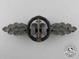 A Luftwaffe Bronze Grade Short Range Night Fighter Clasp by G.H. Osang