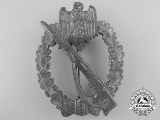 A Silver Grade Infantry Badge by Fritz Zimmermann