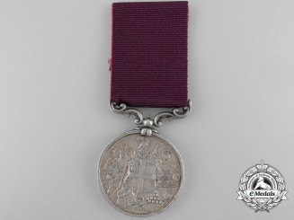 An Indian Army Long Service and Good Conduct Medal to the 27th Regiment