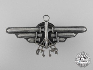 A 1933 Polish Naval Aviation Observer's 2nd Class Qualification Badge