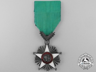 An African Order of the Lion; Knight`s Badge