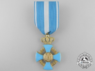A Romanian Order of Faithful Service; Knight