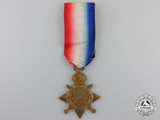 A 1914-15 Star to the Royal Army Medical Corps