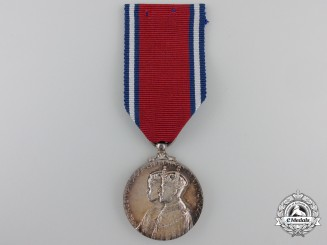 A 1935 King George V and Queen Mary Jubilee Medal