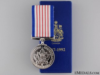 A 125 Year Canadian Confederation Medal
