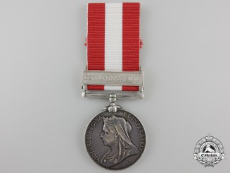 A Canada General Service Medal to the Grand Trunk Railway Brigade