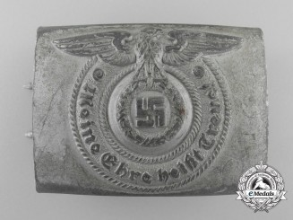 An SS EM/NCO'S Buckle by Overhoff and Cie of Lüdenscheid